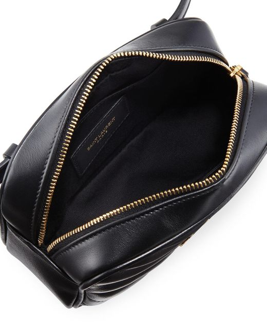 Saint Laurent Lou Monogram Ysl Quilted Leather Belt Bag In