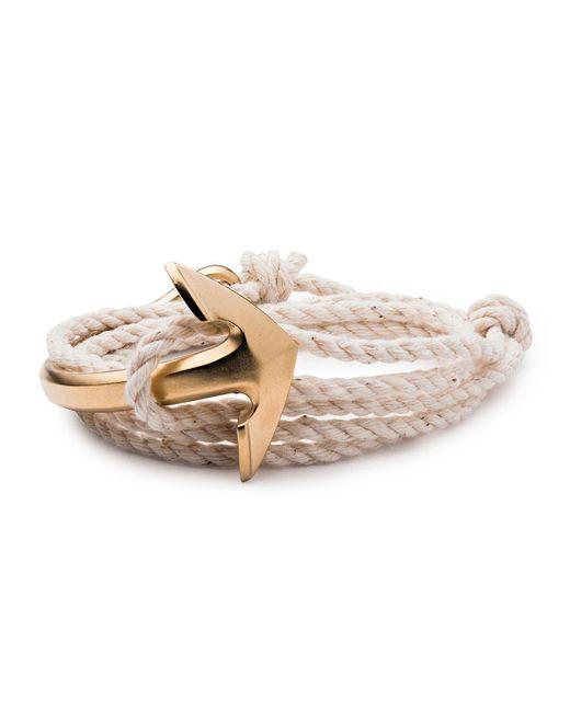 Miansai | Natural Men's Half-anchor Rope Bracelet for Men | Lyst