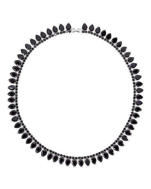 Fallon - Metallic Monarch Pointed Choker Necklace - Lyst