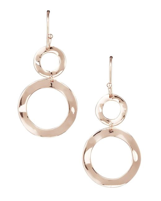 Ippolita - Pink Snowman Earrings - Lyst