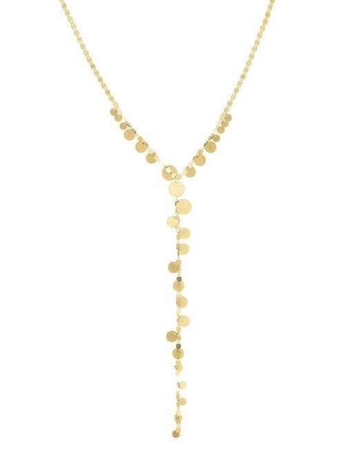 Lana Jewelry - Metallic Multi-disc Y Lariat Necklace - Lyst
