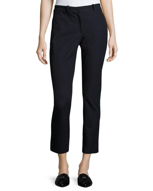 Joseph - Blue New Elliston Stretch-gabardine Skinny Ankle Pants - Lyst