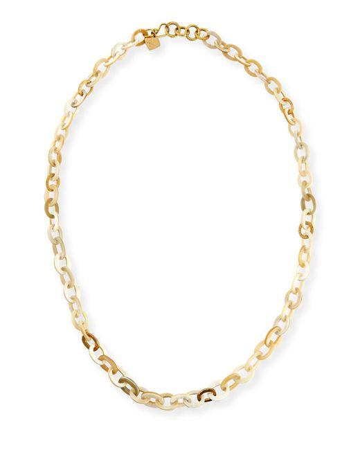 Ashley Pittman - Metallic Mini Mara Light Horn Necklace - Lyst