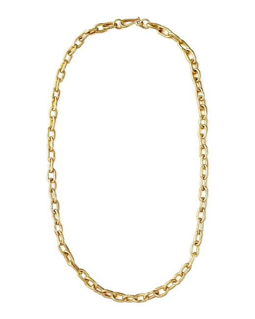 "Ashley Pittman - Metallic 36"" Brnz Link Chain Necklace - Lyst"