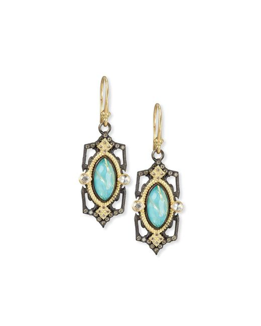 Armenta | Multicolor Old World Midnight Marquis Doublet Earrings | Lyst