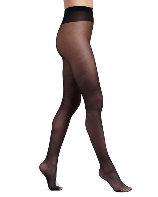 Wolford | Black Individual 10 Pantyhose | Lyst