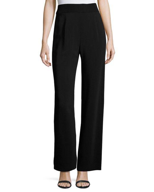 Urban Zen   Black Fluid Jersey Side-zip Pants   Lyst