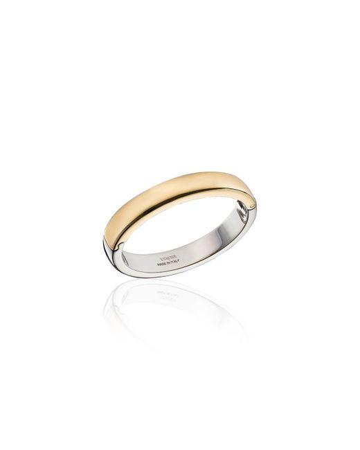 Vita Fede - Metallic Uovo Two-tone Cuff Bracelet - Lyst