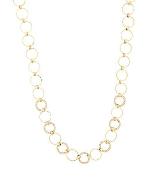 Lana Jewelry | Metallic Multi Circle Necklace With Diamonds In 14k Gold | Lyst