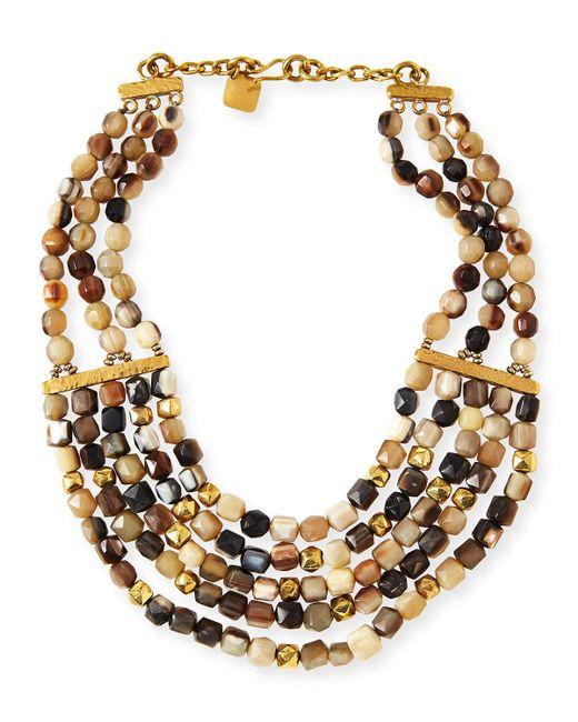 Ashley Pittman - Metallic Kubwa Multi-strand Necklace - Lyst