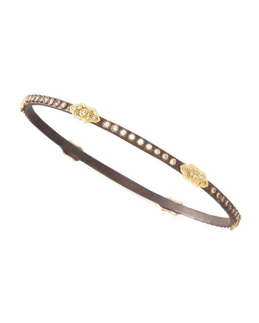 Armenta - Metallic Oxidized Diamond Scrolls Bracelet - Lyst