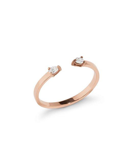 Lana Jewelry - Metallic Echo 14k Gold Open Diamond Pear Ring - Lyst