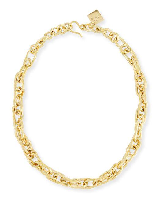 Ashley Pittman | Metallic Saka Bronze Chain Link Necklace | Lyst