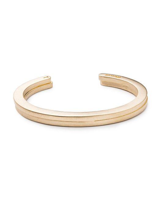 Miansai | Metallic Gold-tone Bracelet for Men | Lyst