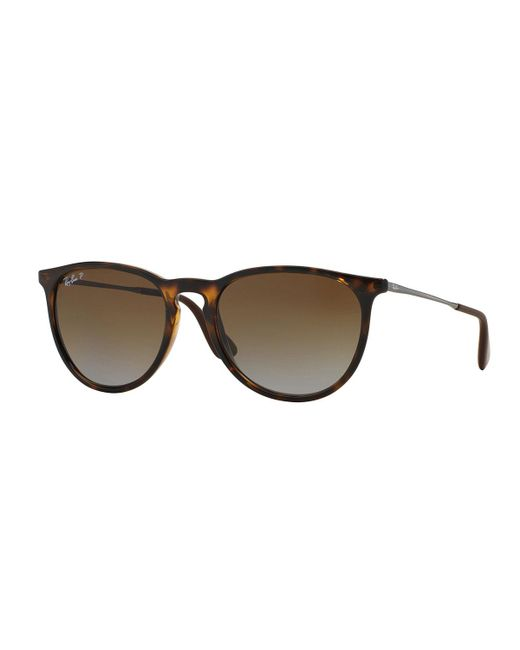 Ray-Ban - Brown Men's Round Metal Sunglasses - Lyst