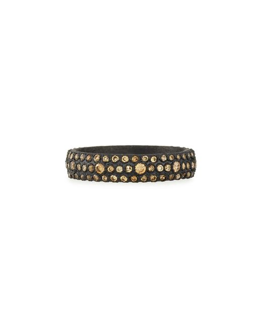 Armenta - Metallic Old World Champagne Diamond Stackable Eternity Ring - Lyst