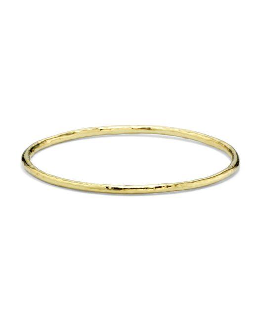 Ippolita - Metallic 18k Gold Glamazon Bangle #1 - Lyst