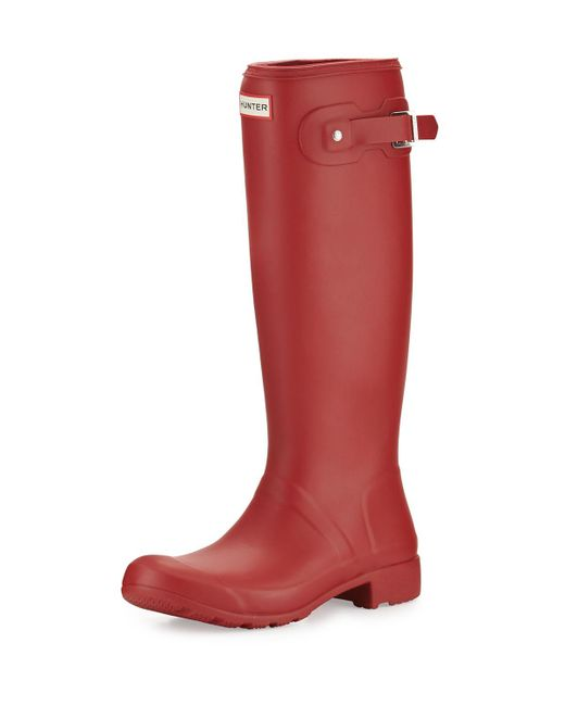 Hunter | Red Original Tour Welly Boot | Lyst