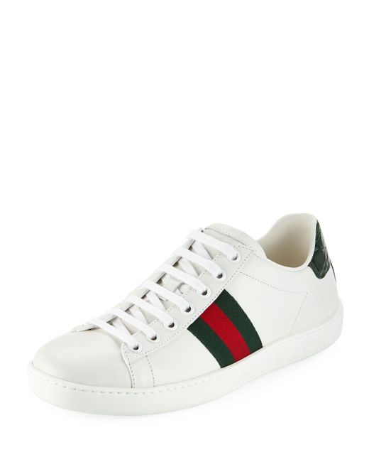 Gucci - Multicolor Ace Star & Bee Fold-down Sneakers - Lyst