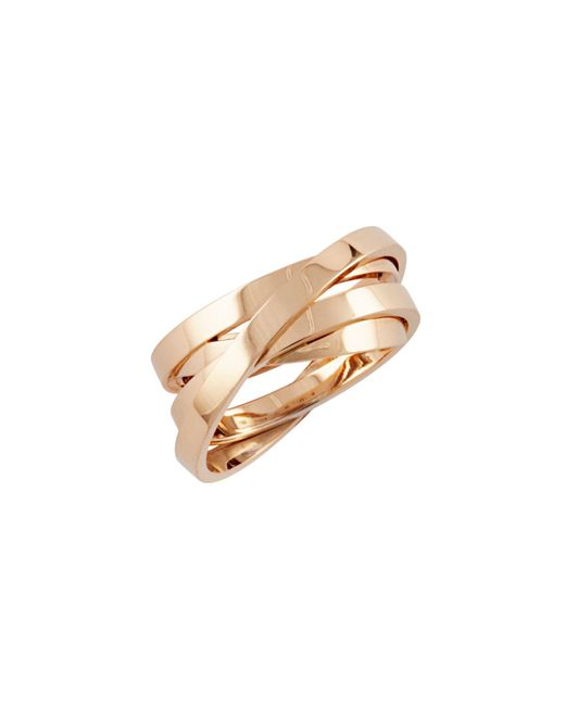 Repossi - Metallic Berbere Technical Ring In 18k Rose Gold - Lyst