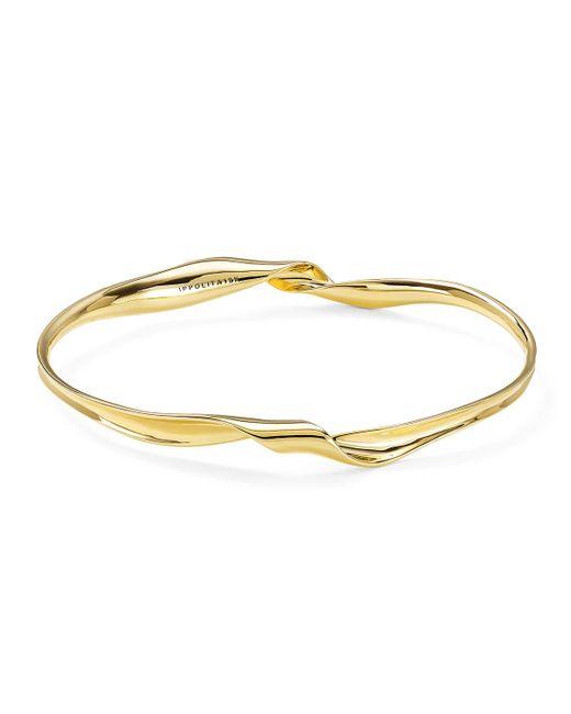 Ippolita - Metallic 18k Classico Twisted Ribbon Bracelet - Lyst