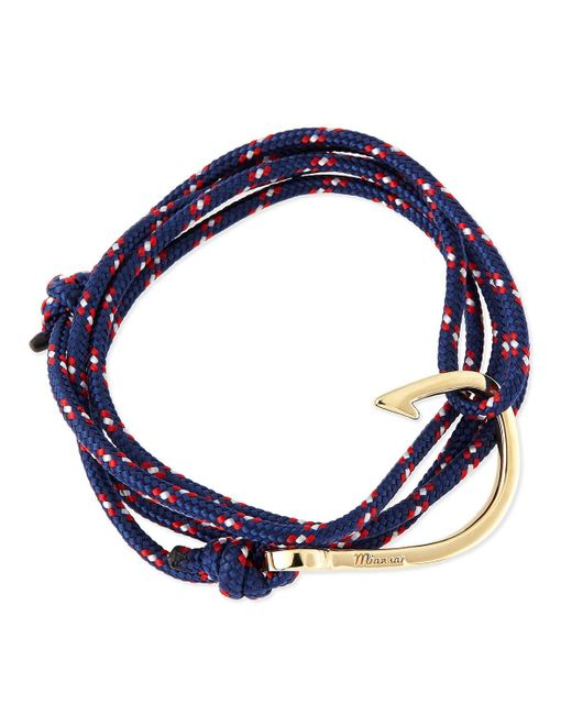 Miansai | Blue Hook Rope Bracelet | Lyst
