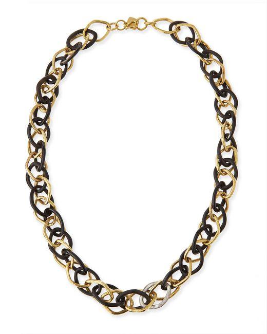 Ashley Pittman   Metallic Kamba Necklace Dark Horn   Lyst