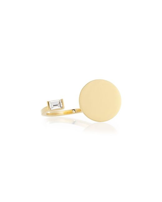 Jennifer Zeuner | Metallic Fable Gold Vermeil And Sapphire Ring | Lyst