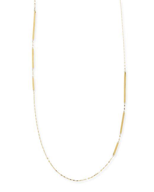 Lana Jewelry | Metallic 14k Gold Dash Layer Necklace | Lyst