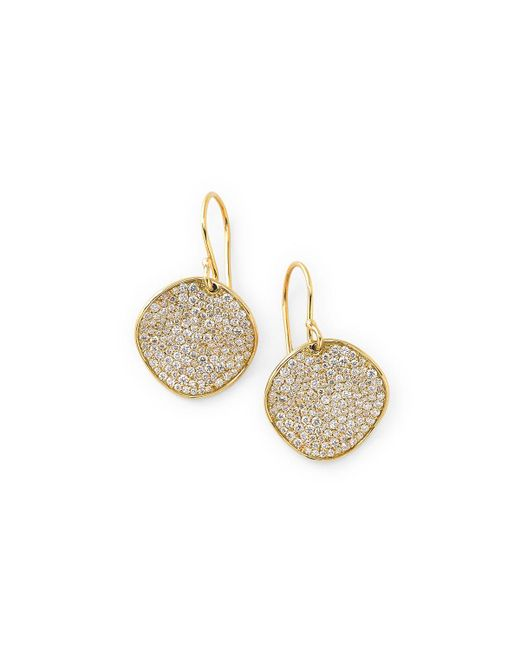 Ippolita | Metallic 18k Glamazon Stardust Earrings With Diamonds | Lyst
