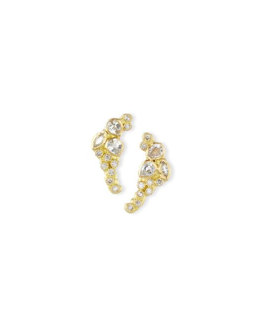 Armenta | Metallic Sueño 18k Petite Cluster Climber Earrings | Lyst