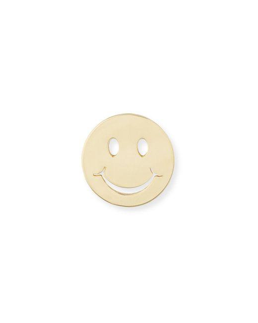 Sydney Evan | Metallic Pure Happy Face Stud Earring | Lyst