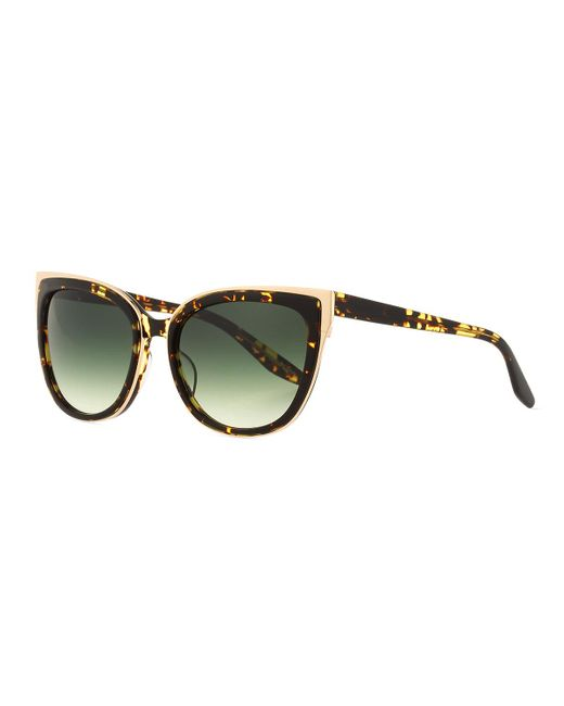 Barton Perreira   Multicolor Winette Gradient Cat-eye Sunglasses   Lyst