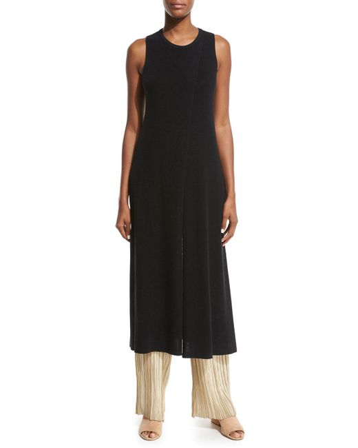 The Row | Black Nerin Crossover Long Tunic | Lyst