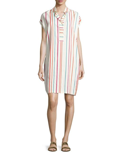 Loro Piana   Multicolor April Santa Cruz Striped Shirtdress   Lyst