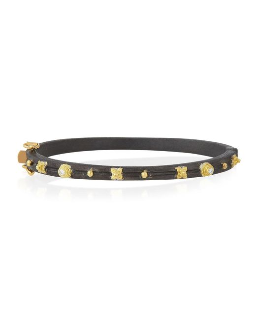 Armenta | Multicolor Midnight Diamond Huggie Bracelet | Lyst