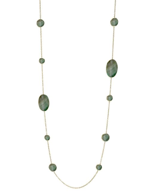 Ippolita | Metallic Shell Station Necklace | Lyst