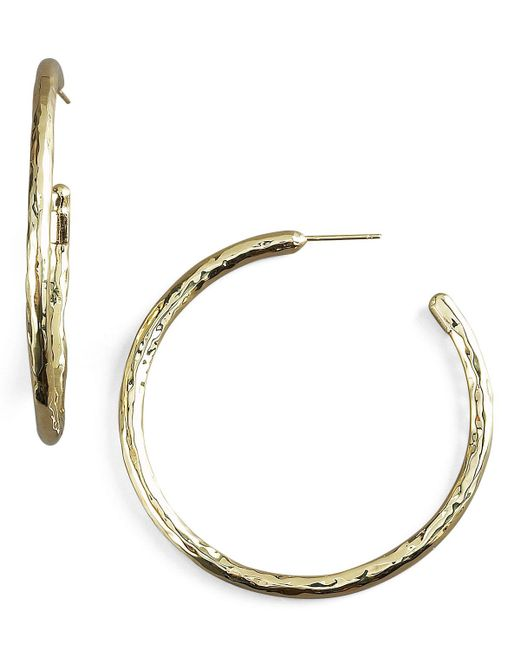 Ippolita | Metallic Glamazon Gold Hoop Earrings | Lyst