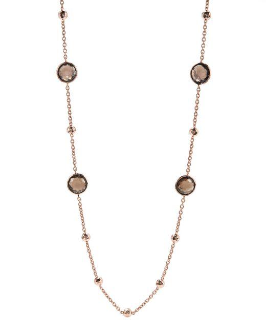 Ippolita | Metallic Rose Mini Lollipop Quartz Necklace | Lyst