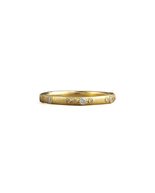 Armenta | Metallic Scattered Diamond Ring | Lyst
