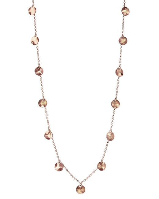 Ippolita | Pink Rose Paillette Necklace | Lyst