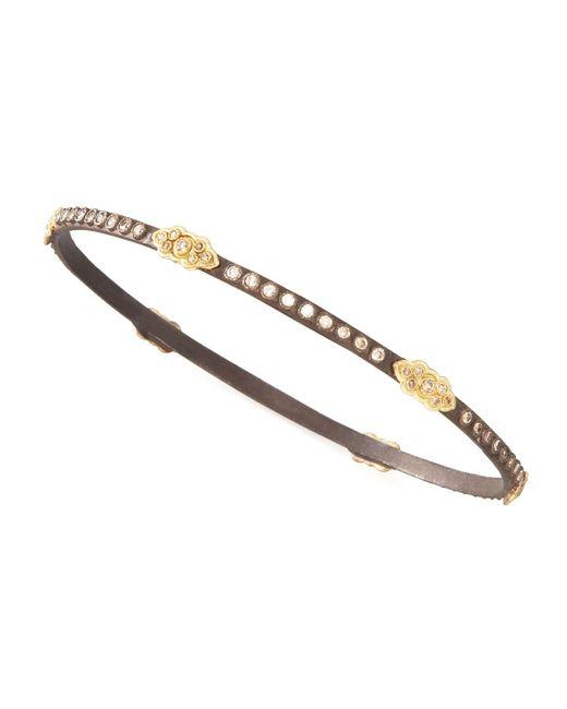 Armenta | Metallic Oxidized Diamond Scrolls Bracelet | Lyst