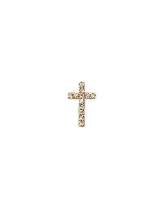 Sydney Evan | Metallic 14k Rose Gold Gemstone Skull Single Stud Earring | Lyst