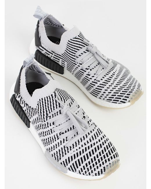 sale retailer 50c10 bf09d ... Adidas Originals - Gray Sneakers Nmd R1 for Men - Lyst