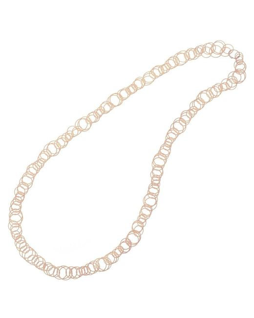 "Buccellati - 18k Pink Gold ""hawaii"" Long Necklace - Lyst"