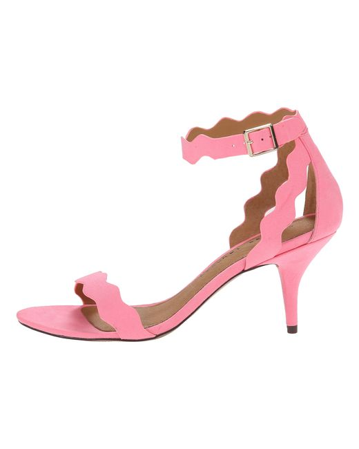 Chinese Laundry | Pink Rubie Scalloped Sandal | Lyst