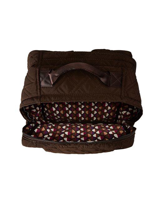 Vera Bradley | Brown Tech Backpack | Lyst