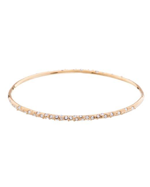 Karen Millen   Metallic Crystal Sprinkle Bangle   Lyst