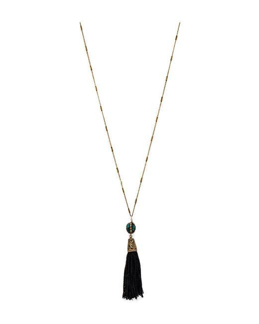 Vanessa Mooney | Blue Le Dame Tassel Necklace | Lyst
