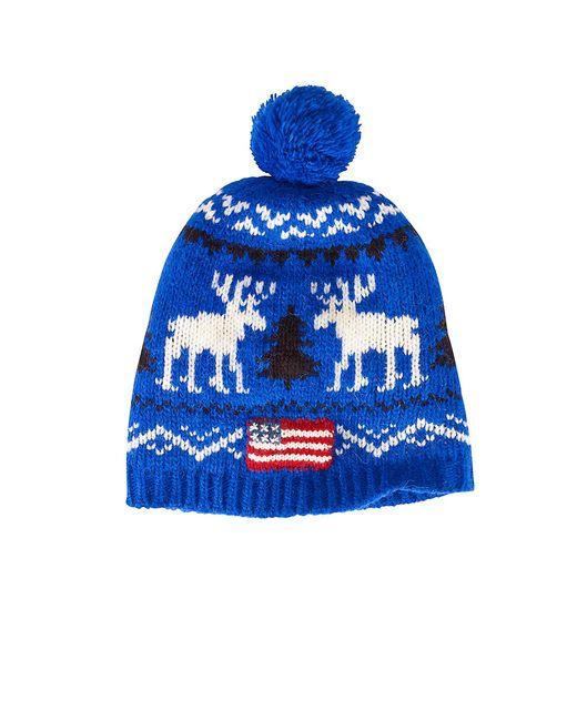 Polo Ralph Lauren   Blue Reindeer Wool Hat for Men   Lyst
